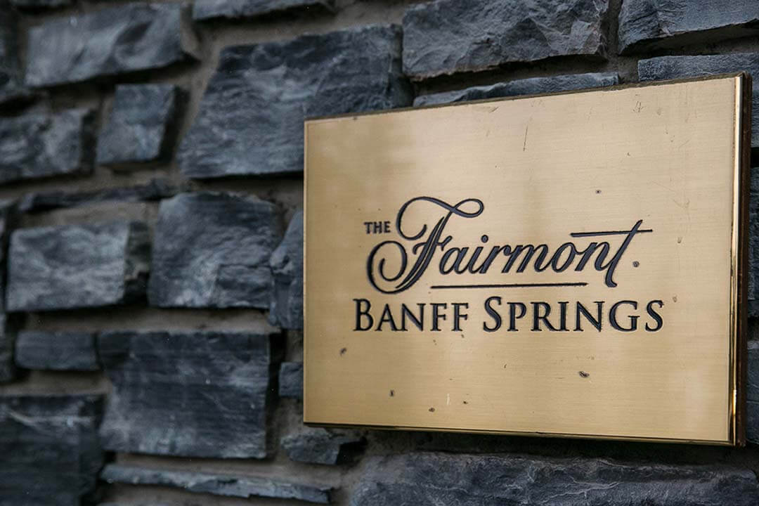 fairmont banff springs canada wedding venue