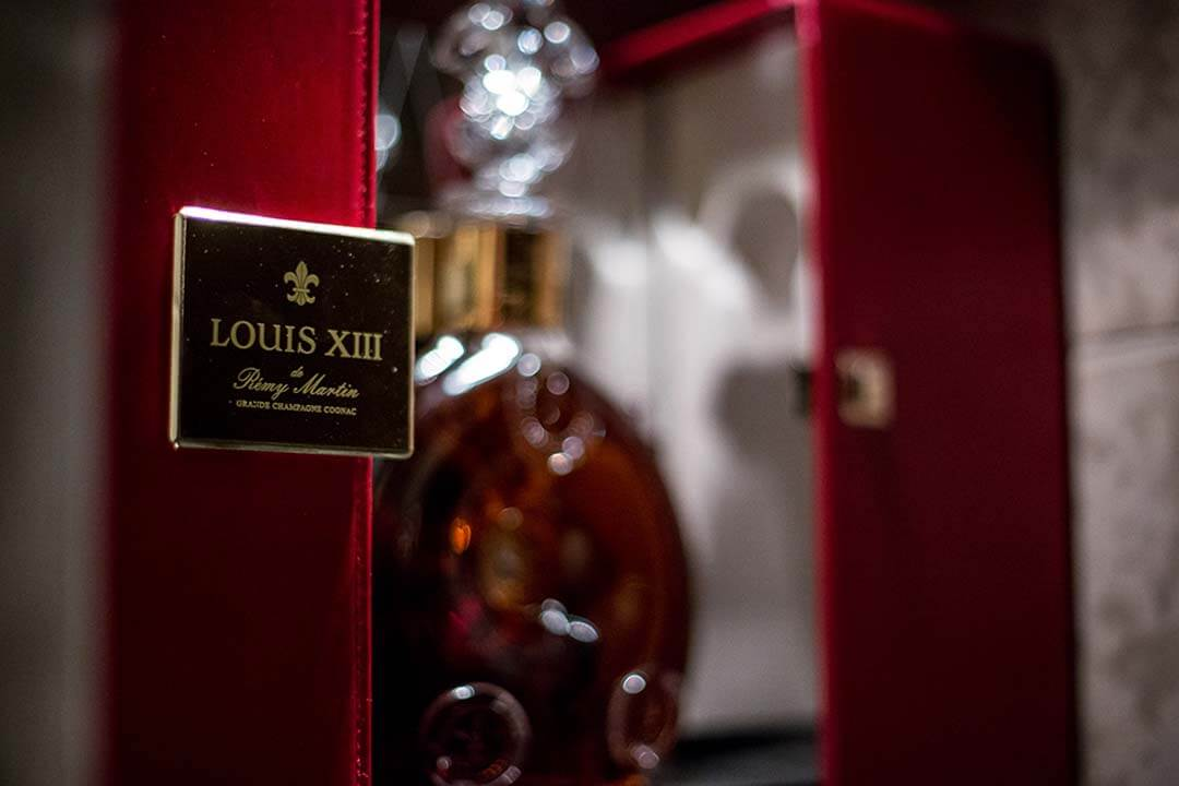 louis xiii cognac bottle